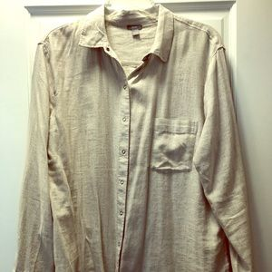 Arie knit shirt.  Size large